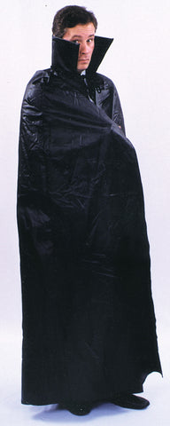 "45"" Floor Length Black Cape"