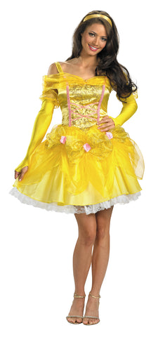 Women's Sassy Belle Deluxe Costume - Beauty & the Beast