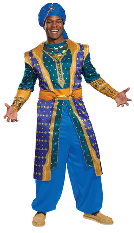 Men's Genie Deluxe Costume - Aladdin Live Action
