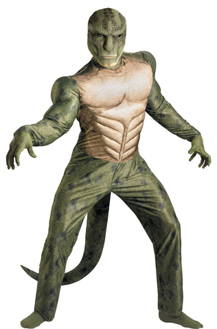 Men's Lizard Classic Muscle Costume