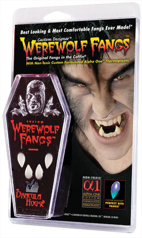 Werewolf Fangs - Clam Shell