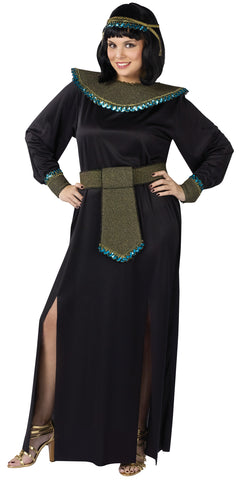 Women's Plus Size Midnight Cleopatra Costume