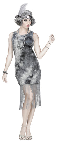 Women's Ghostly Flapper Costume