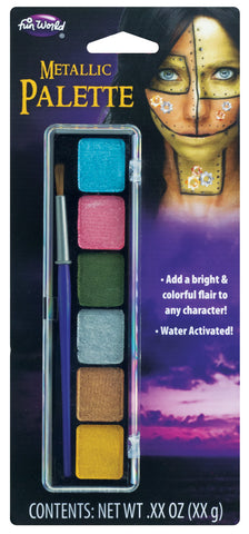 Water Activated Makeup with Snap Tray