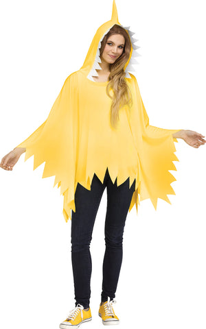 Shark Poncho - Adult