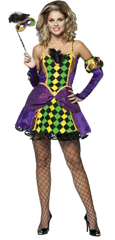 Women's Mardi Gras Queen Costume