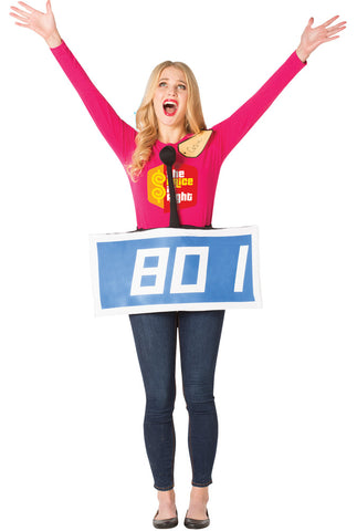 The Price Is Right Row Costume