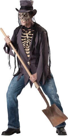 Men's Grave Robber Costume