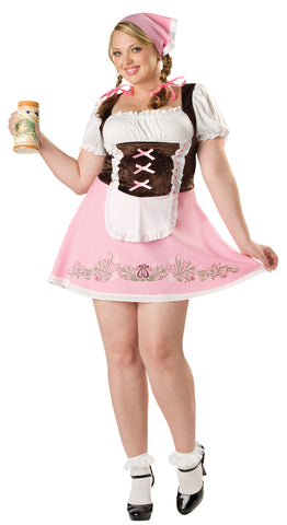 Women's Plus Size Fetching Fraulein Costume