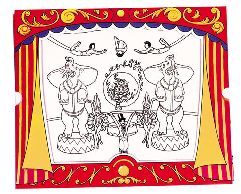 Circus Magic Picture Frame