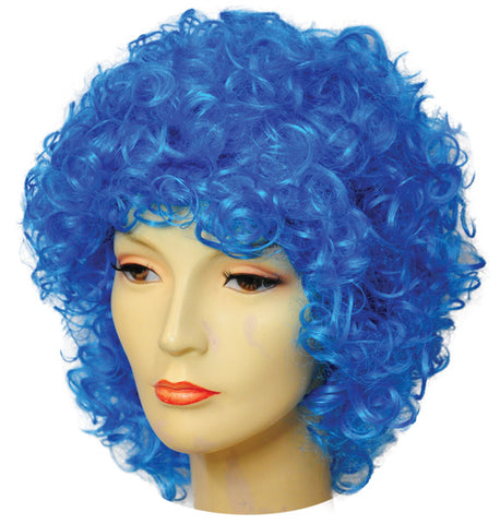 Long Curly Clown Discount Wig