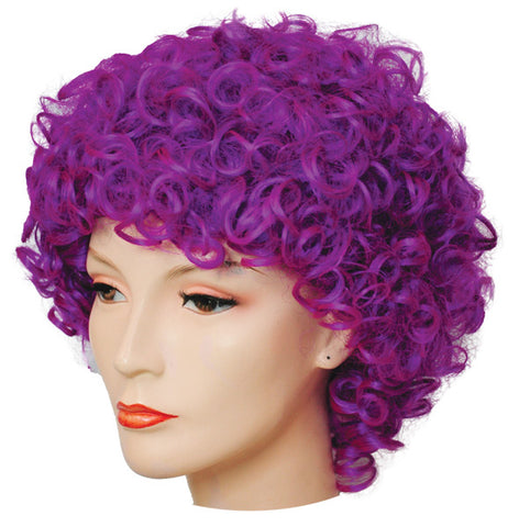 Deluxe Long Curly Clown Wig