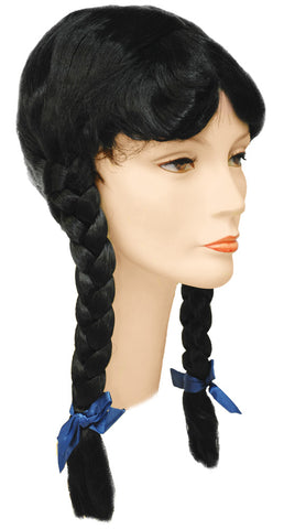 Special Bargain Braided with Bang Wig