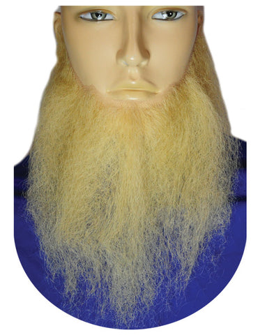 "10"" Long Full-Face Beard - Human Hair"
