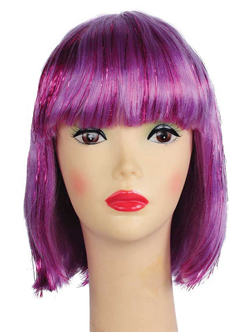 Bargain China Doll with Tinsel Wig