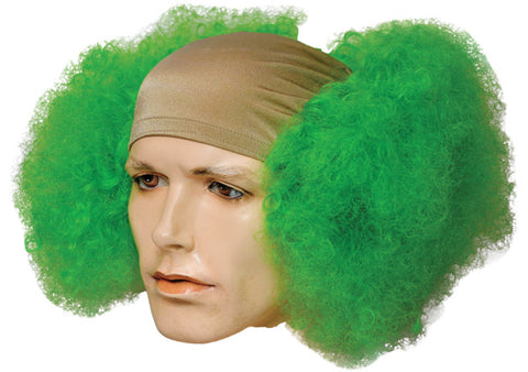 Bald Curly Clown Wig
