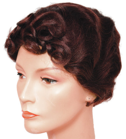 Fingerwave with Curls T99 Wig