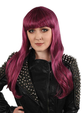 Teen Offspring with Bangs Magenta