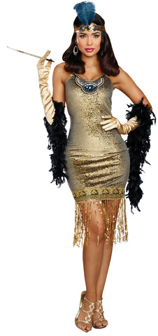 Women's Golden Girl Costume