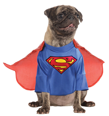 Superman Pet Costume with Arms Costume