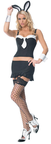 Women's Gangster Bunny Costume
