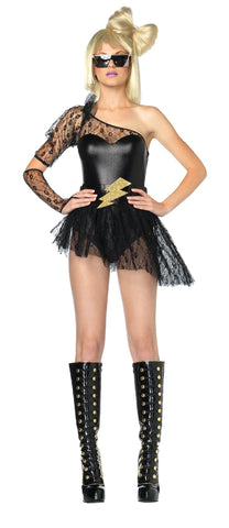 Women's Lightening Rocker Costume