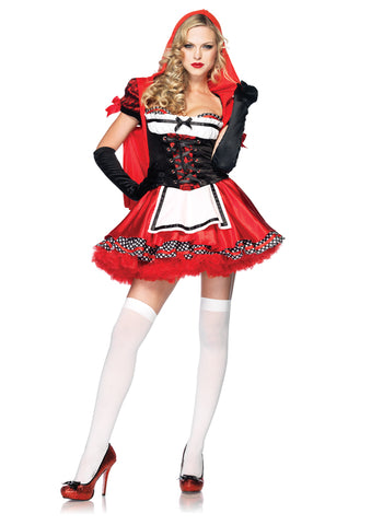 Women's Miss Divine Red Costume