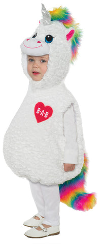 Build-A-Bear Color Craze Unicorn Belly Baby