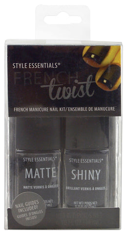 French Twist Finger Nail Polish