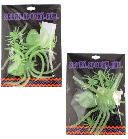 Jumbo Spider Plastic Wall Clings