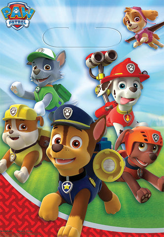 PAW Patrol Loot Bags - Pack of 8