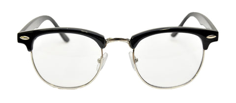 Black Mr. 50s Glasses
