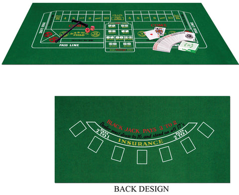 Blackjack Craps Set