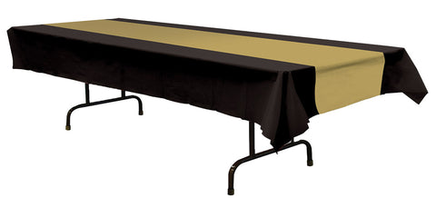 Table Cover Black Gold