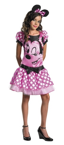 Girl's Minnie Mouse Pink Costume