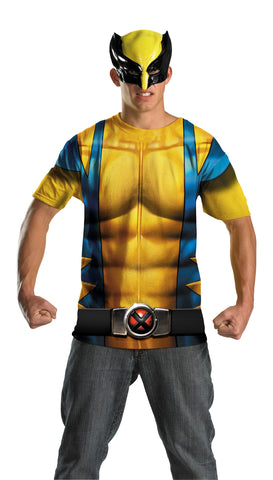 Men's Wolverine Alt No Scars Costume