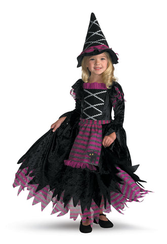 Girl's Fairy Tale Witch Deluxe Costume