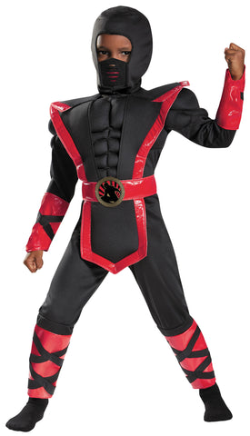 Boy's Ninja Muscle Costume