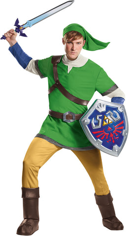 Men's Link Deluxe Costume - The Legend of Zelda