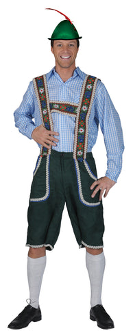 Salzburg Pants with Suspenders