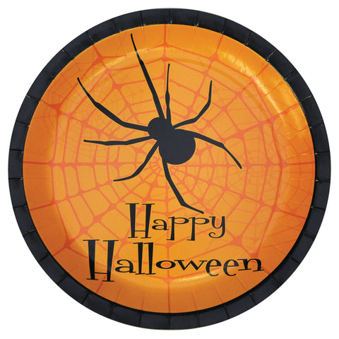 Halloween Party Plates - Pack of 8