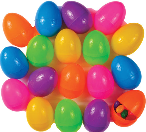 Easter Egg Mega Asstorted - Pack of 18