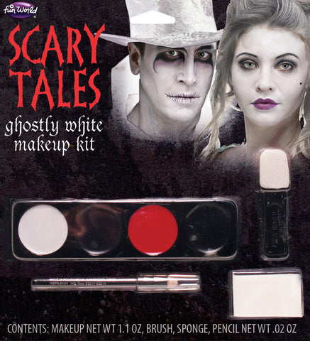 Ghost Makeup Scary Tales
