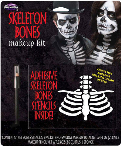 Skeleton Makeup Kit Skeleton B