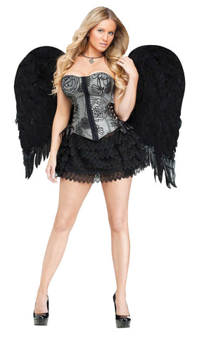 Feather Angel Wings - Adult