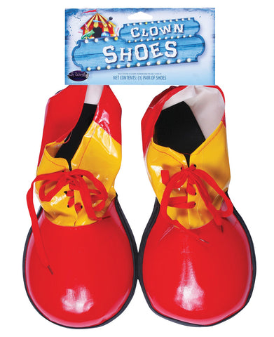 Clown Shoes Adult Red