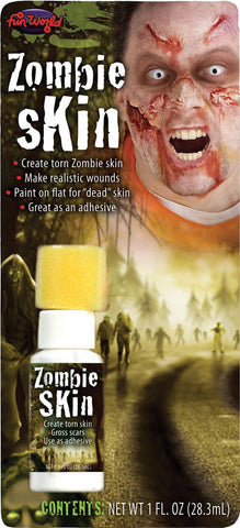 Latex Zombie Fake Skin