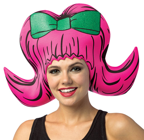 Comic Bouffant Foam Wig