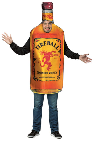 Fireball - Get Real Bottle Costume