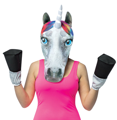 Women's Unicorn Head with Hooves